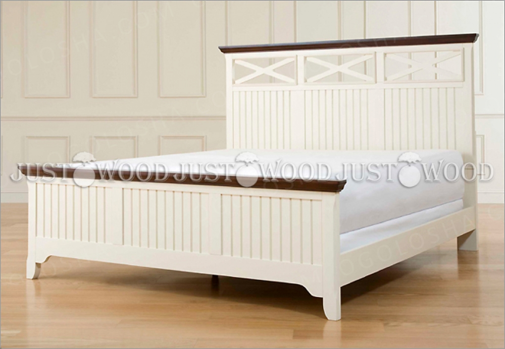 кровать Реприза из натурального дерева