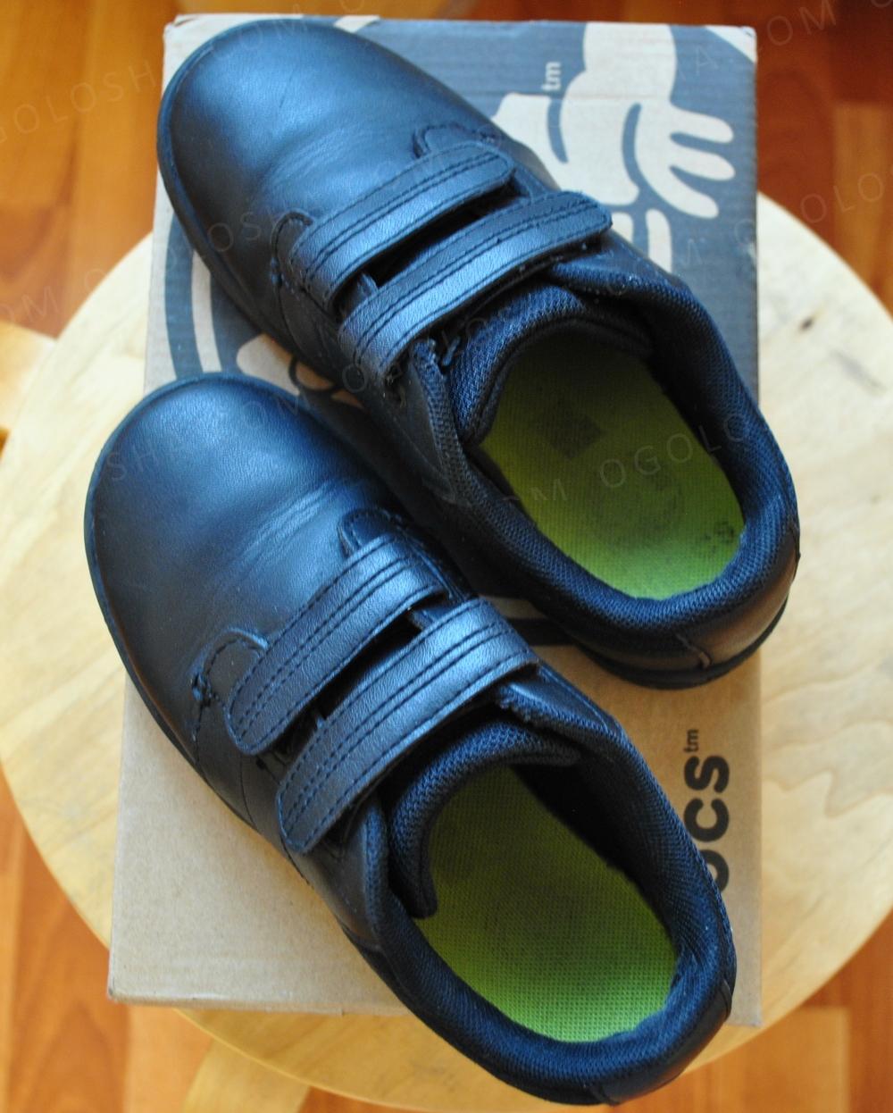 Стильные туфли CROCS Натуральная кожа