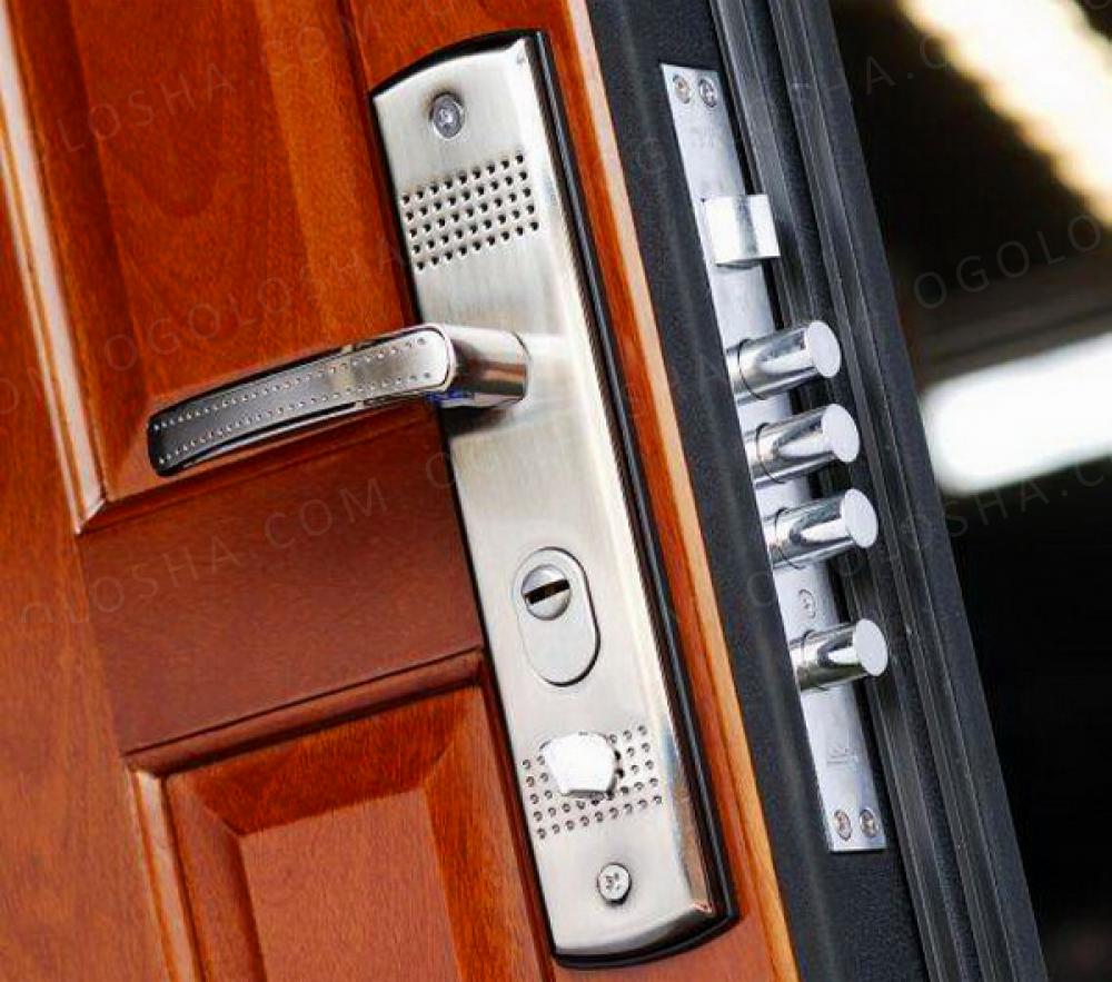 Замена замка в металлической двери в новосибирске