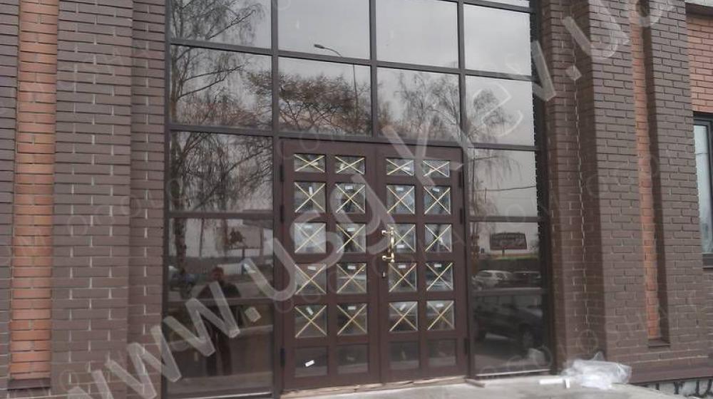 Фасады из алюминиевого профиля