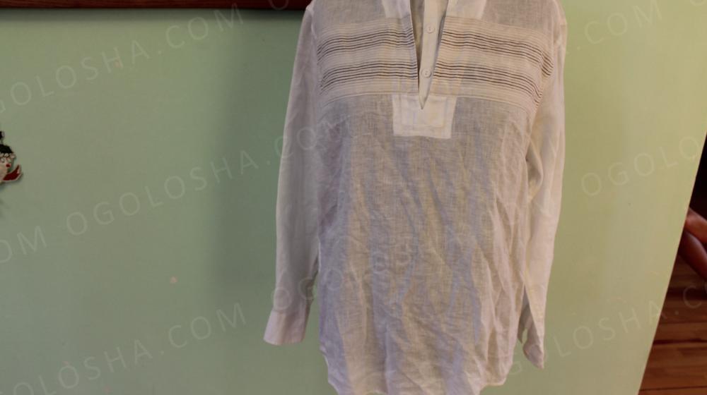Лляна сорочка John Rocha  650 грн - Мода і стиль   Одяг  взуття ... 32884866a8ebc