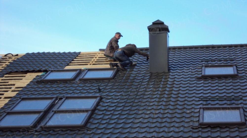 Ремонт крыши дома в Киеве и Киевской области.