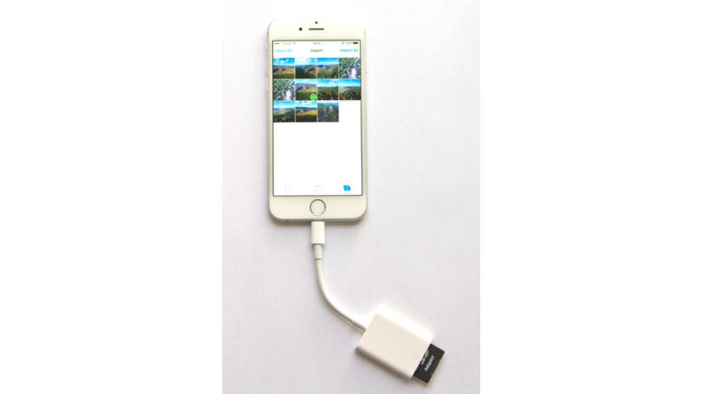 Apple lightning to Card Reader for iPhone\iPad кардридер SD card