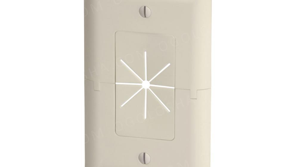 Панель для проводов настенная с уплотнителем.