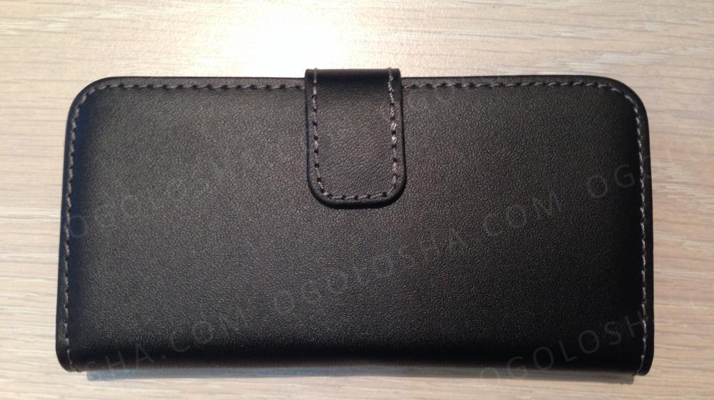 Кожаный чехол iPhone 5, 5c, 5s Разные цвета