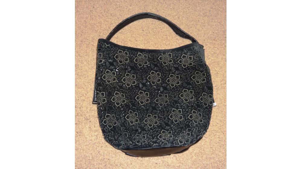 Женская черная сумка.