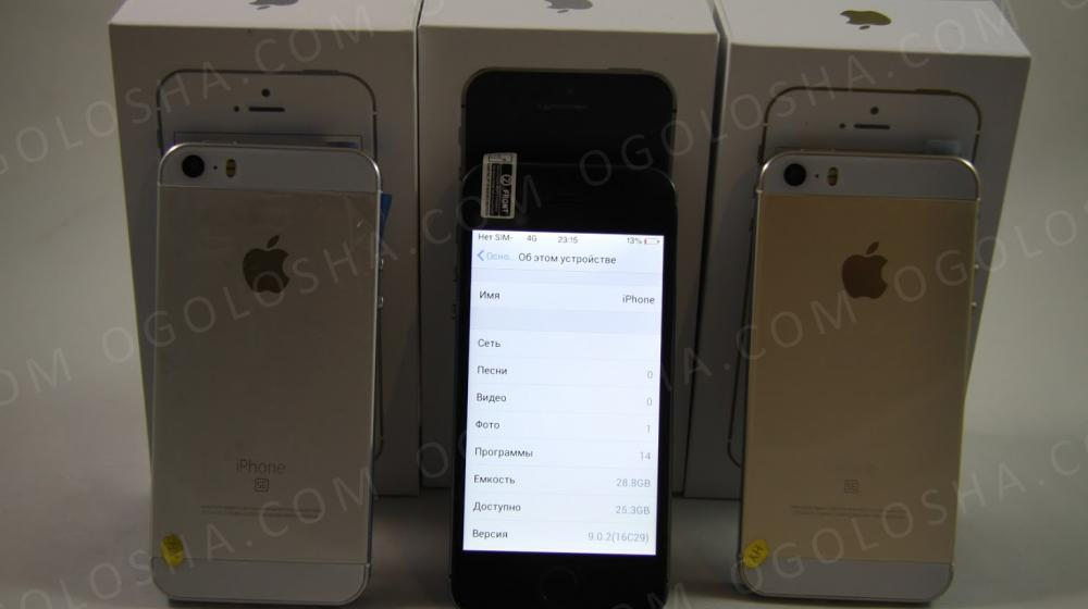 IPhone SE ( золотой, черный, розовый) копия