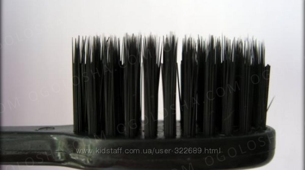 Зубная щетка с бамбуковым угольным напылением Супер здоровые и крепкие зубы Киев