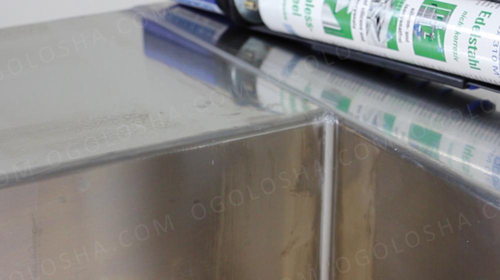 WEICON Flex 310 M® Stainless Steel Клей-герметик- нержавеющая сталь