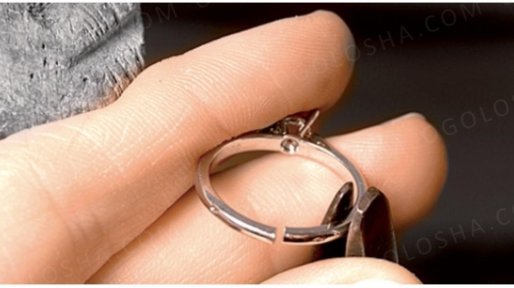 Можно ли уменьшить размер кольца с камнем