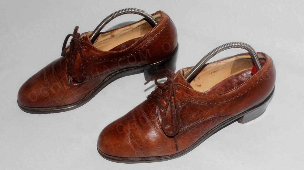 Туфли 36 р. Bally (Италия), кожа, оригинал