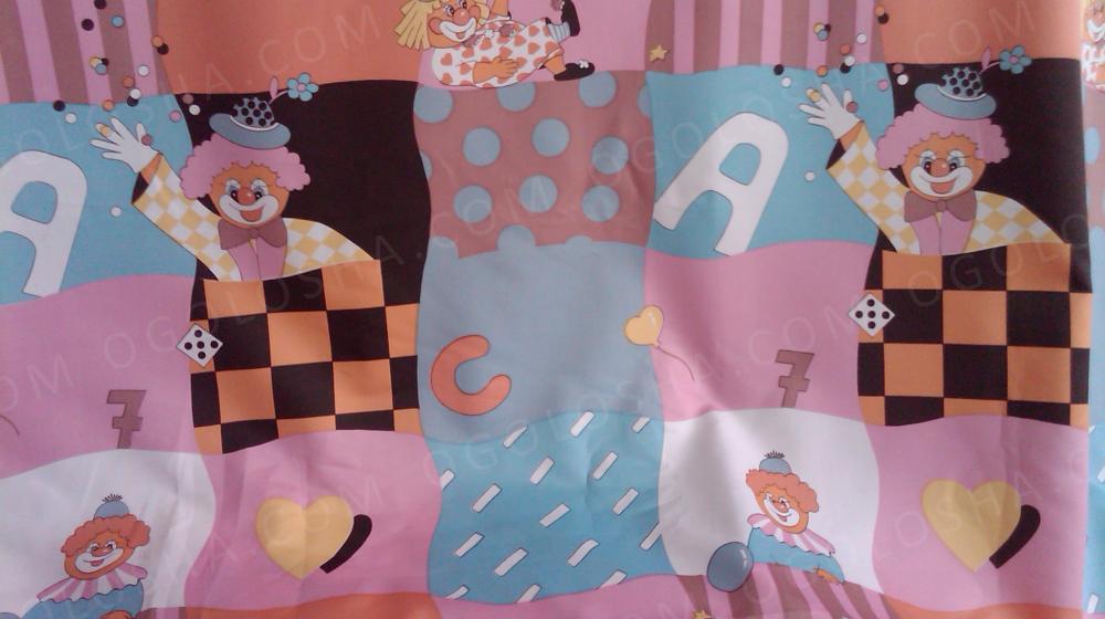 Продам ткань для штор в детскую комнату