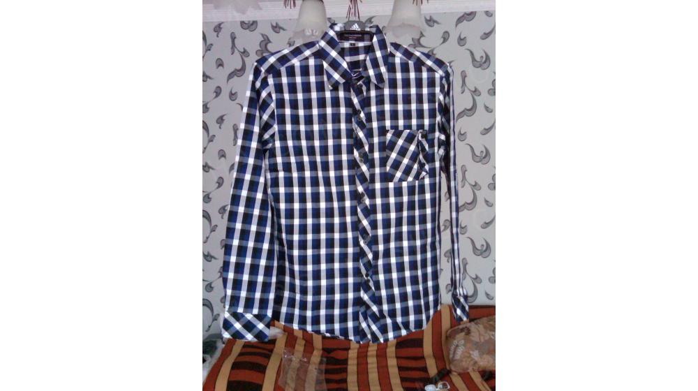 Продам мужские рубашки в клетку D&G  (L, XXL) Италия (новые)
