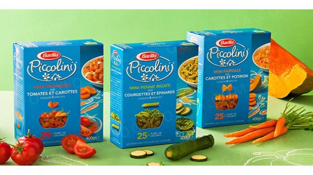Макароны Barilla Piccolini детские с овощами 400 г