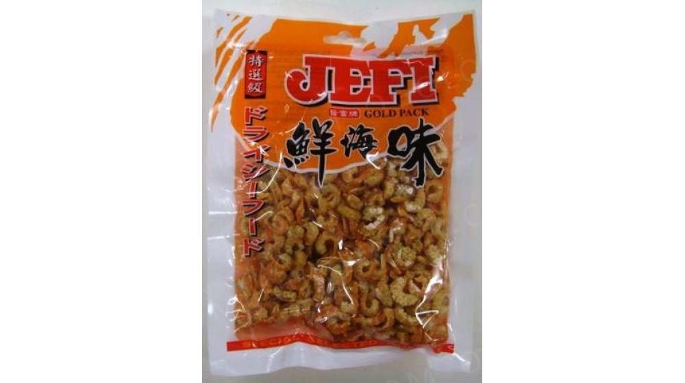 Сушеные креветки средние  100 гр