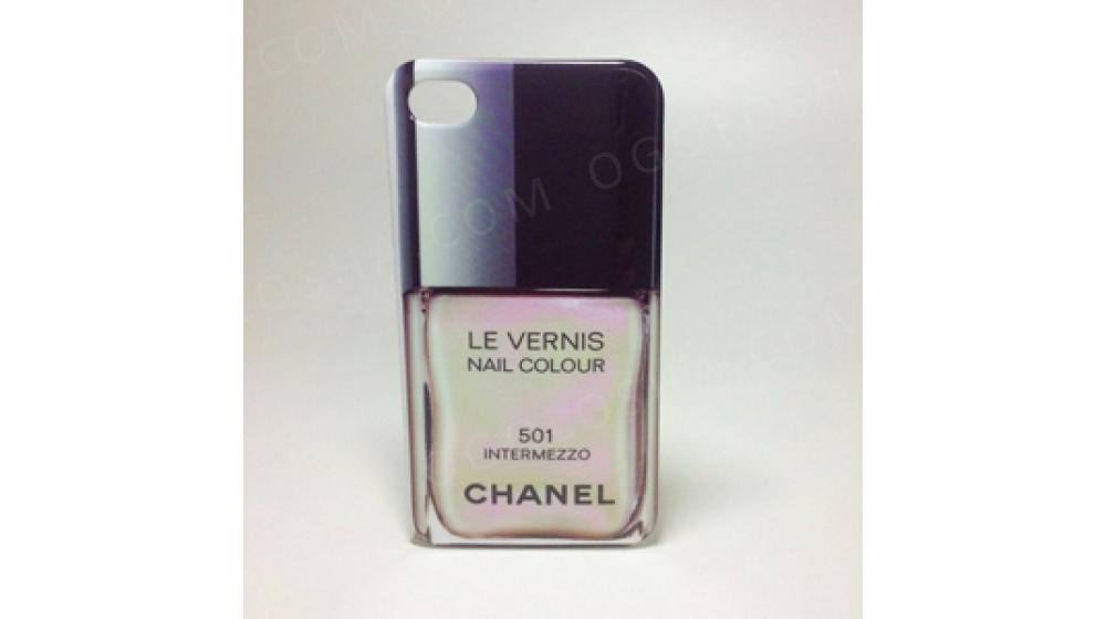 Чехол Лак Chanel 501 Intermezzo для iPhone 4&4s