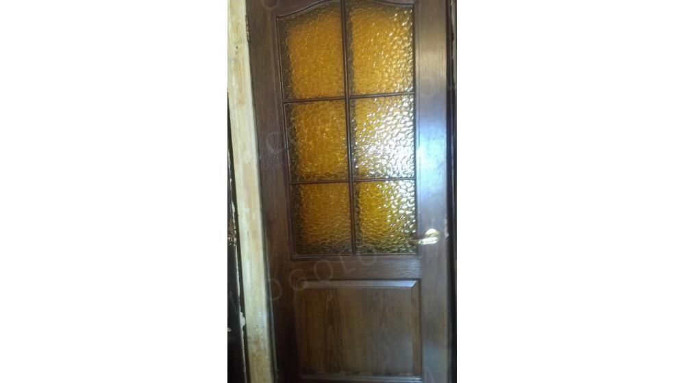 Срочно продам двери МДФ б\у, с коробкой(дерево) и фурнитурой