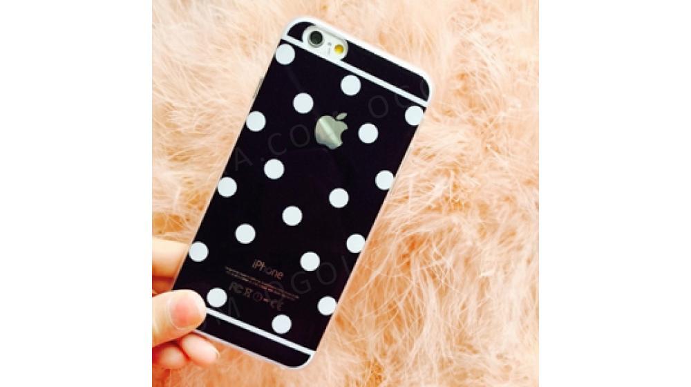 Силиконовый чехол Candy Black Черный для IPhone 5/5s