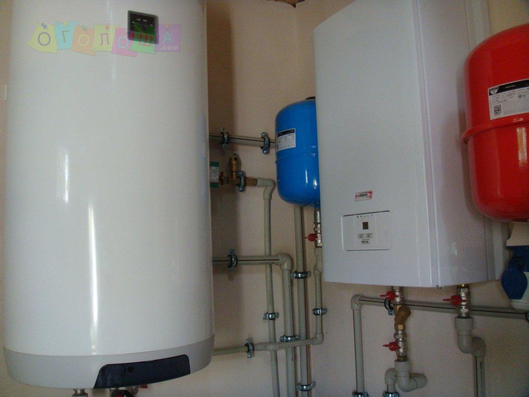 Автономное отопления. водопровод,  теплые водяные полы