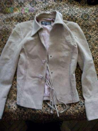 Пиджак-куртка замшевый