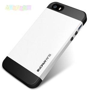 Защитный чехол SGP Slim Armor Белый для IPhone 5/5s