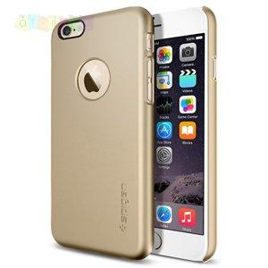 Защитный чехол SGP Thin Fit A Champagne Gold Шампань для IPhone 6 Plus