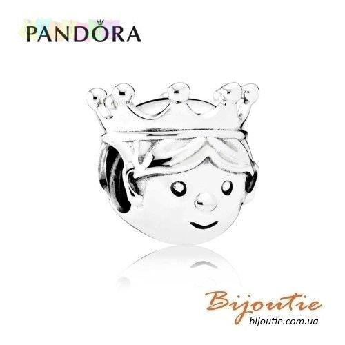Оригинал PANDORA шарм ― МАЛЕНЬКИЙ ПРИНЦ #791736CZ