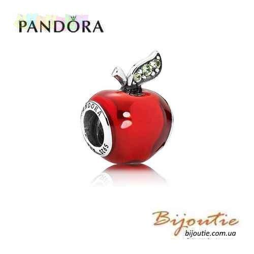 Оригинал Pandora Disney шарм ЯБЛОКО БЕЛОСНЕЖКИ 791572EN73