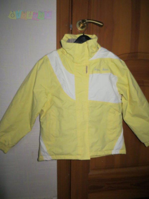 Зимняя термо-куртка 140р