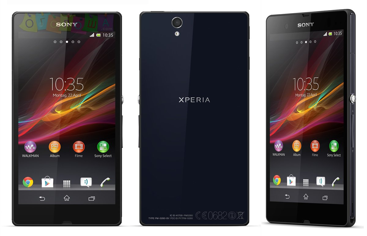 Sony Xperia Z (Black_Purpule)