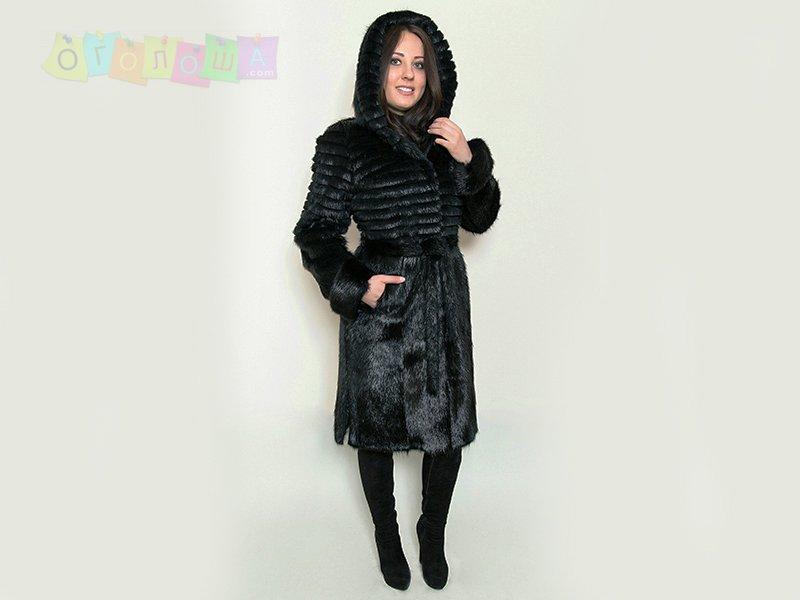 Шубы и куртки из меха нутрии по приемлемым ценам