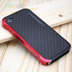 Бампер Vapor 4 Черный с красным Black/red для Iphone 4/4s