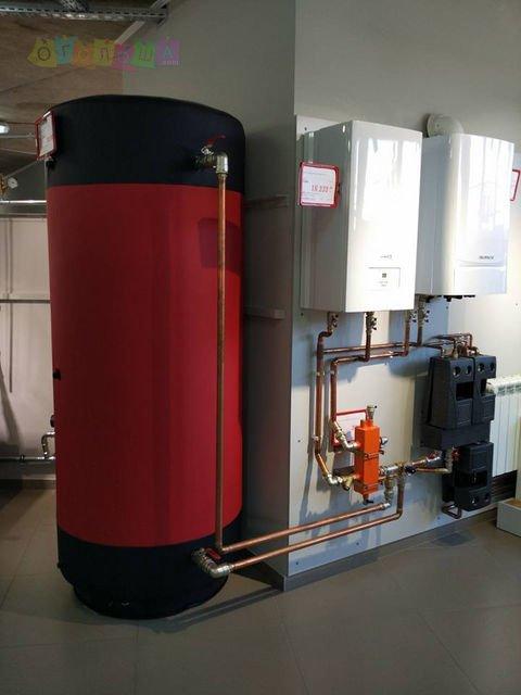 Буферная емкость, аккумулирующая от 200 до 5000 литров, в утеплителе Днепропетровск