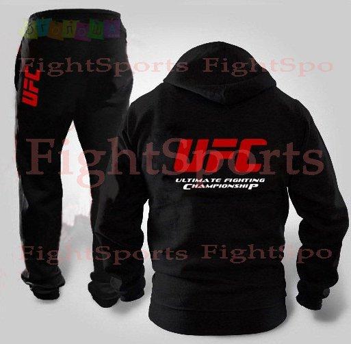 Спортивный костюм UFC BLACK NEW (на молнии) - оплата при ПОЛУЧЕНИИ!!!