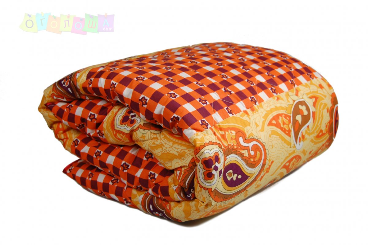 Одеяло «Homeline» летнее синтепоновое (полиэстер, 100 г/м2, Вензель), 140х210см