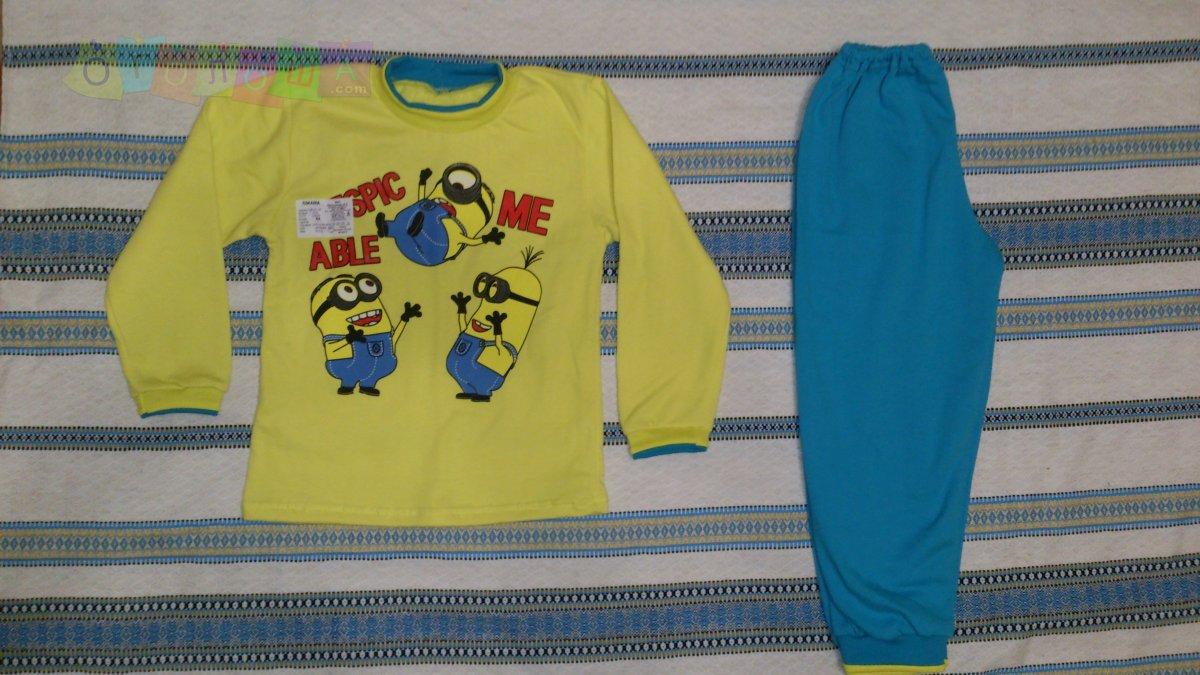 Пижамы теплые (девочка, мальчик)