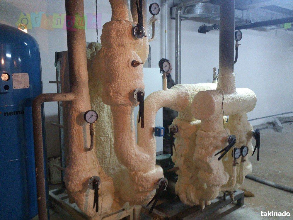 Пенополиуретан, утепление, теплоизоляция, гидроизоляция ППУ ПРОФИТ