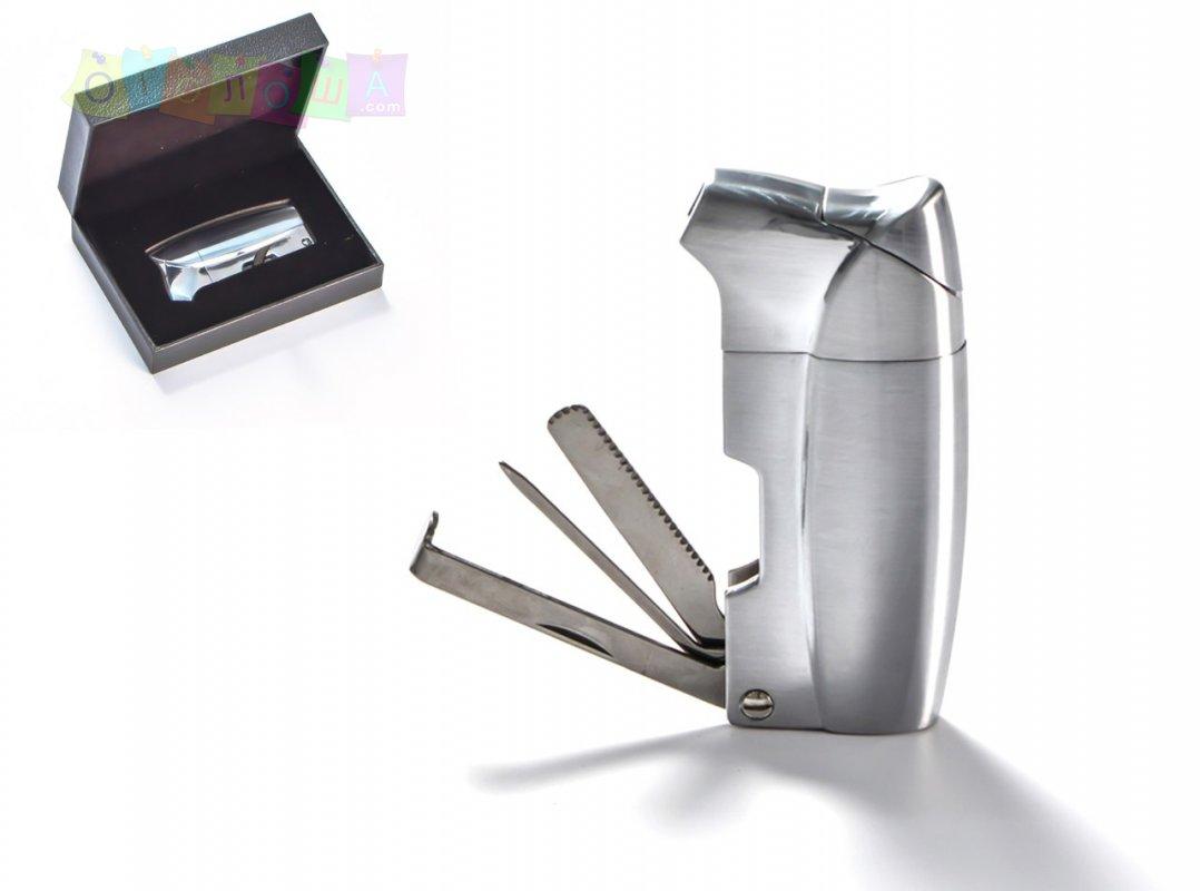 Трубочная зажигалка COZY в подарочной упаковке с тройником