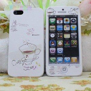 Чехол Happymori Coffee Passion Кофе для IPhone 5