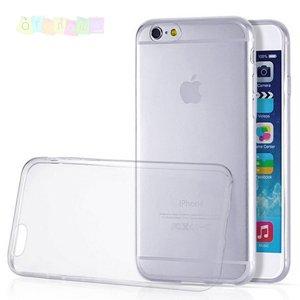 Чехол ультратонкий мягкий пластик 0.3мм Прозрачный для IPhone 6 Plus