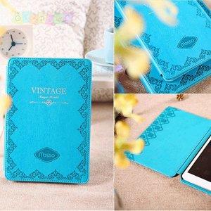 Чехол смарт обложка Vintage Винтаж Turquoise Бирюзовый для iPad 2&3&4