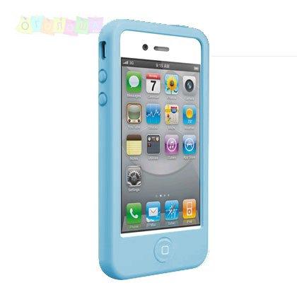 Чехол SwitchEasy Colors Blue Синий для IPhone 4/4s