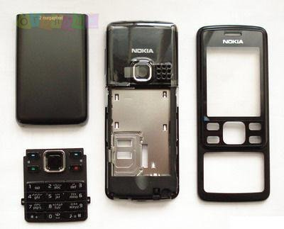 Корпус для Nokia 6300 черный High Copy