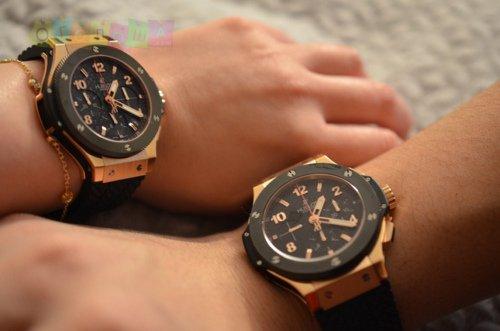 Большие часы на руку