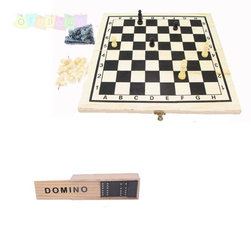 Шахматы Шахи Домино Доміно дерево