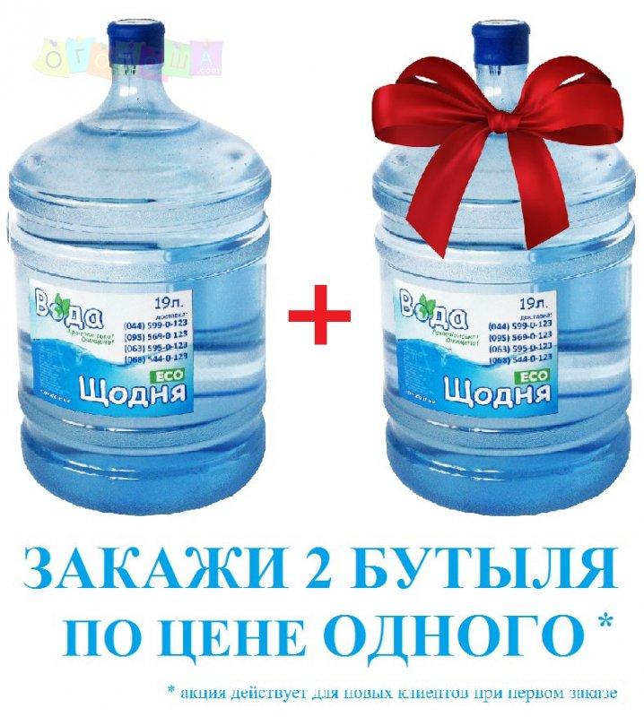 Доставка питьевой воды Еко Вода Щодня