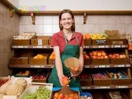 Продавец на овощи в супермаркет / м. Академгородок