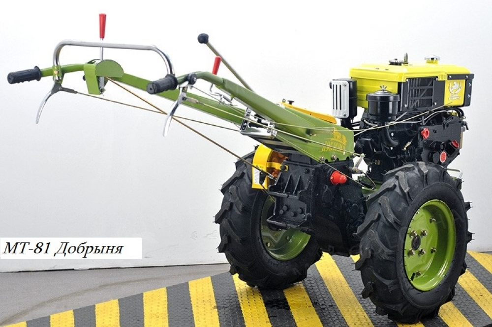 Новый Мотоблок Добрыня МТ-81
