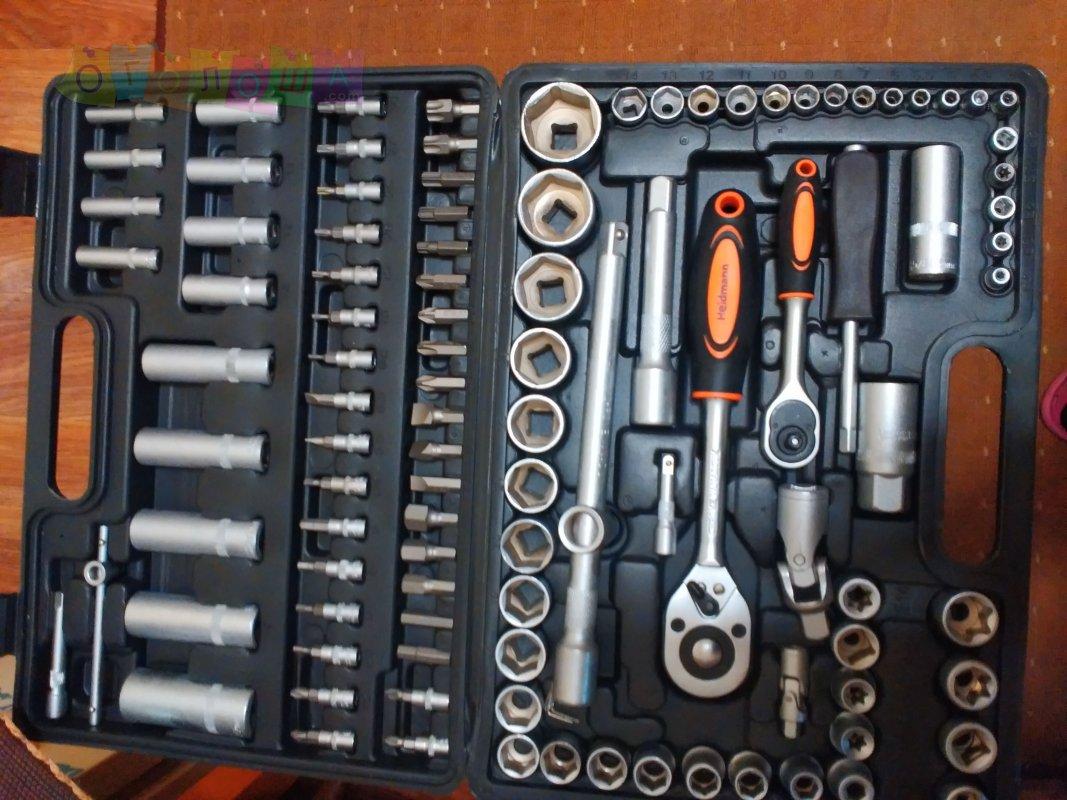 Новый набор ключей, головок Heidmann 108