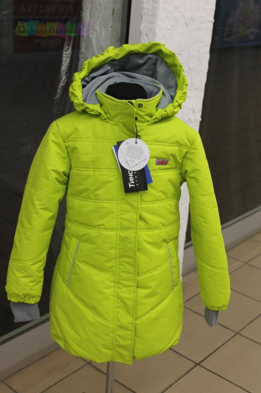 Пальто зимнее для девочки 2016-2017 Joiks 122-158